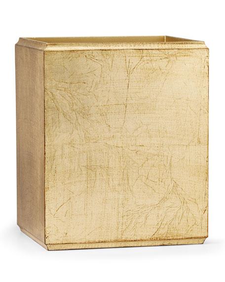 Labrazel York Gold Wastebasket