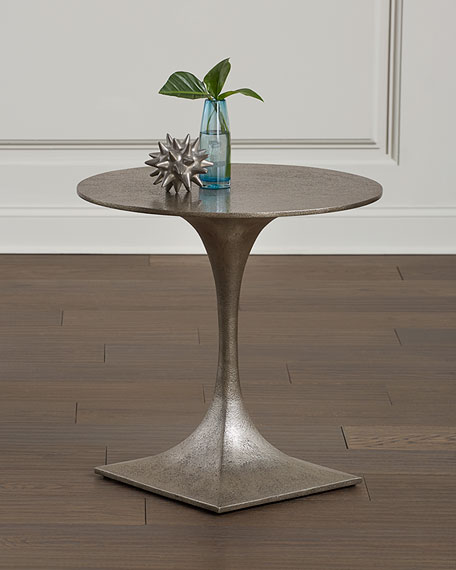 Bernhardt Randolph Slender Pedestal End Table