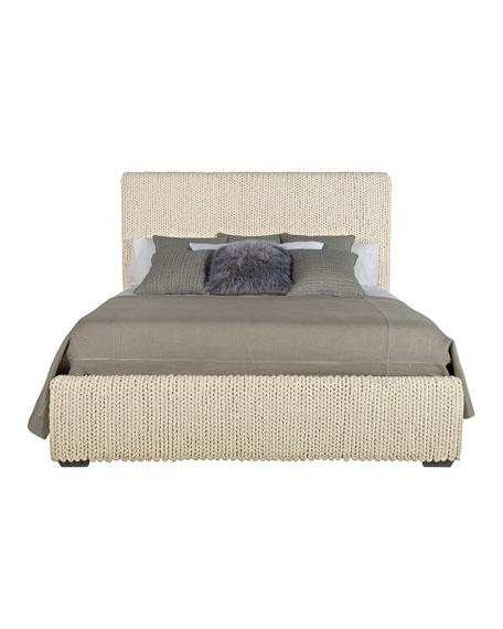 Bernhardt Stanhope Hand-Loomed King Bed