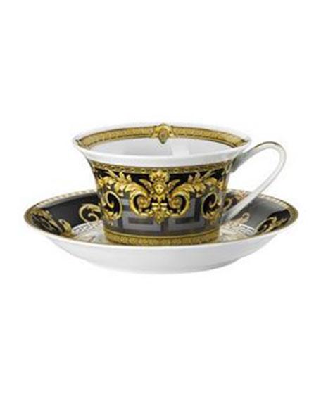Versace Prestige Gala Teacup & Saucer Set