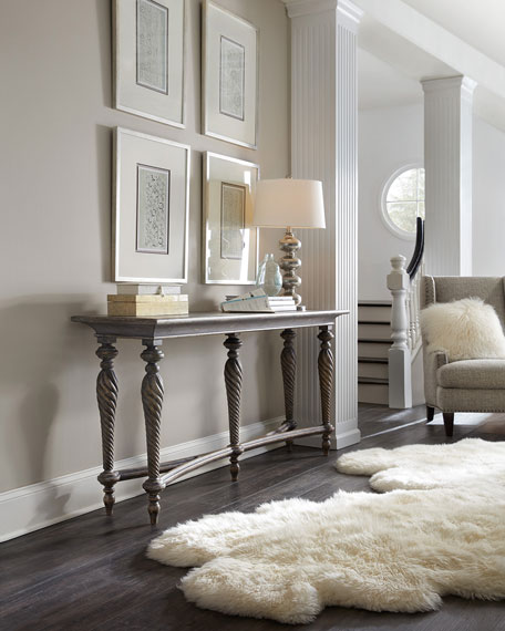 Image 2 of 4: Hooker Furniture Persata Multi-Leg Console Table
