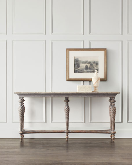 Image 1 of 4: Hooker Furniture Persata Multi-Leg Console Table