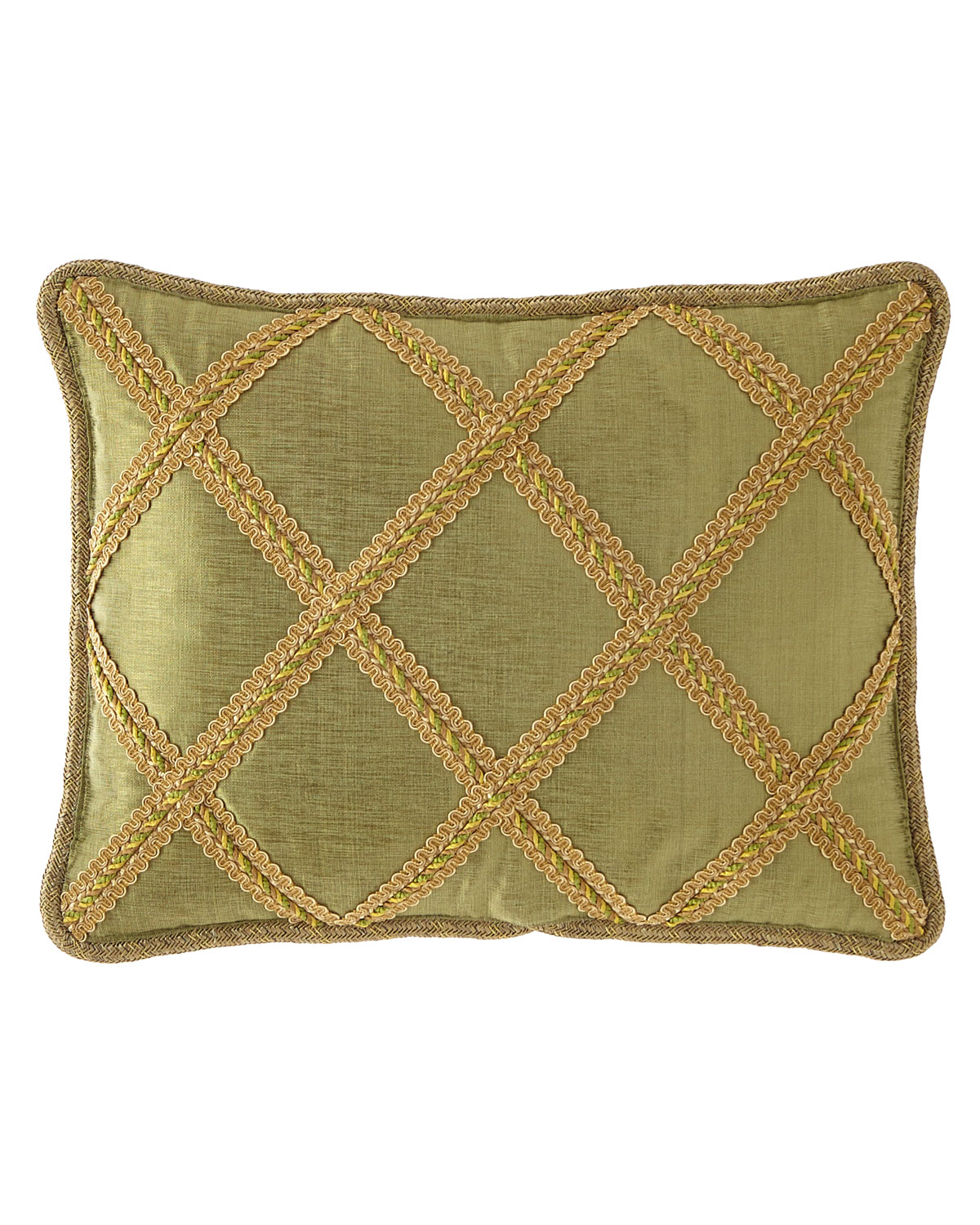 Dian Austin Couture Home Botanical Lattice Oblong Pillow
