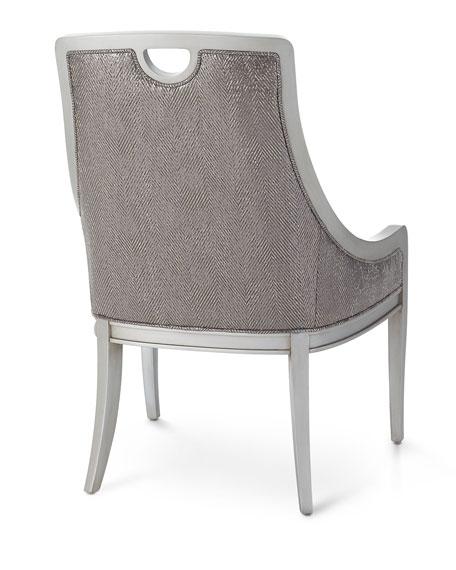 Massoud Leon Leather Dining Chair