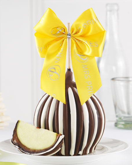 Mrs Prindable's Triple Chocolate Easter Jumbo Caramel Apple