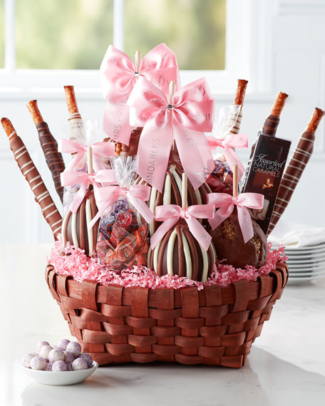 Mrs Prindable's Premium Spring Caramel Apple Gift Basket