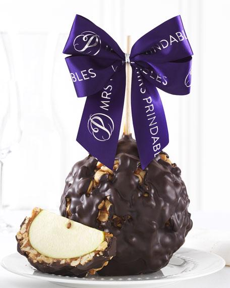 Mrs Prindable's Dark Chocolate Cashew Jumbo Caramel Apple