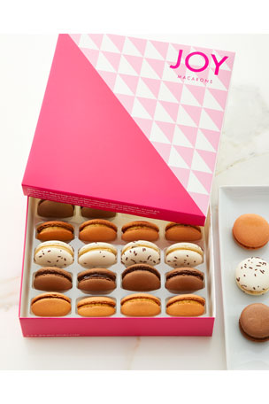 JOY Macarons Chocoholic Macarons Assortment $50.00