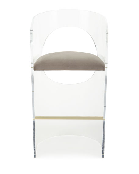 Interlude Home Corin Acrylic Bar Stool