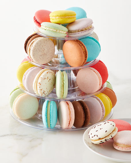 JOY Macarons 4-Tier Macaron Tower