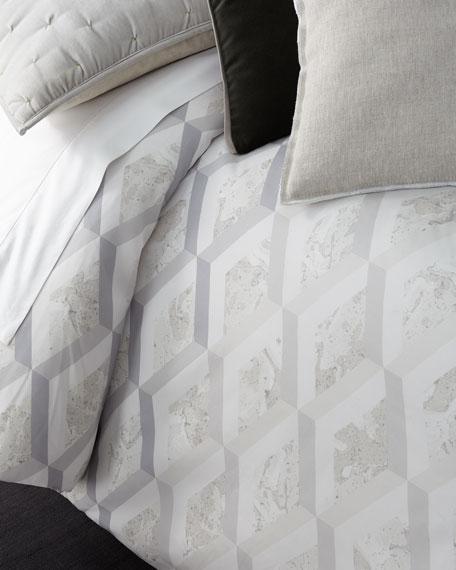 Designers Guild Jourdain Birch Queen Duvet Cover