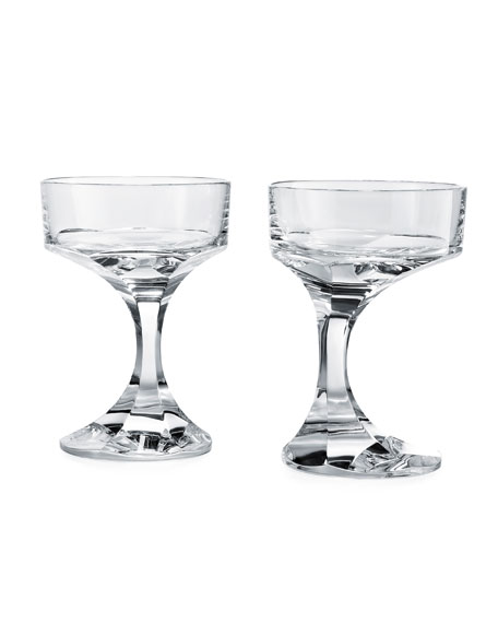 Baccarat Narcisse Coupes, Set of 2