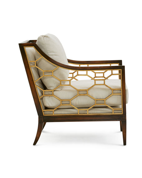 Image 2 of 3: John-Richard Collection Belden Place Honeycomb Chair