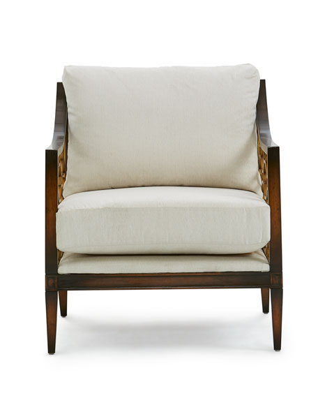 Image 3 of 3: John-Richard Collection Belden Place Honeycomb Chair