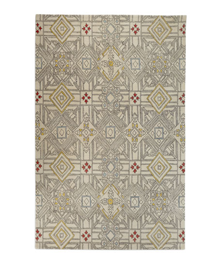 Brewster Hand-Tufted Rug, 5' x 8'