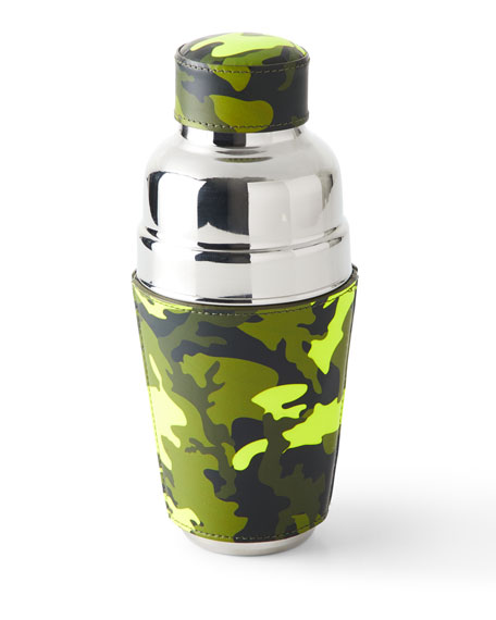 Camo Wrapped Cocktail Shaker
