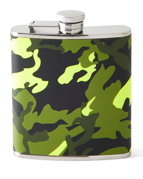Camo Wrapped Flask