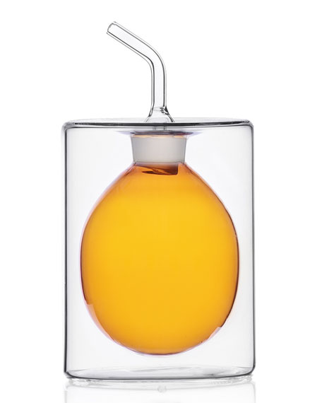 ICHENDORF Cilindro Double Walled Oil Bottle, 150 mL