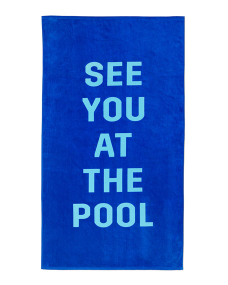 Ban.do See You At The Pool Beach Towel