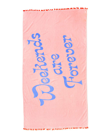 Ban.do Deluxe Beach Towel