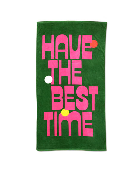 Ban.do Have The Best Time Beach Towel
