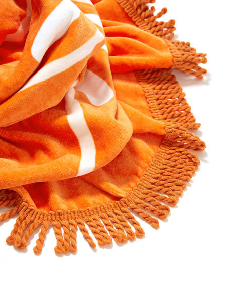 Image 2 of 2: All Around Giant Orange Towel