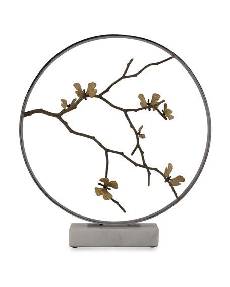 Michael Aram Butterfly Gingko Moon Gate Sculpture
