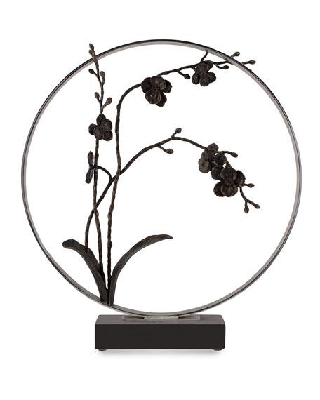 Michael Aram Black Orchid Moon Gate Sculpture