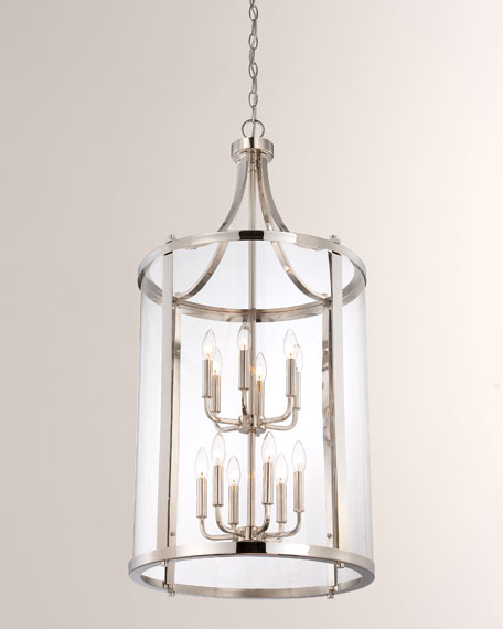Penrose 12-Light Large Foyer Pendant