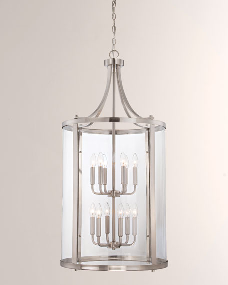 Savoy House Penrose 12-Light Large Foyer Lighting Pendant