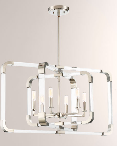 Savoy House Rotterdam 6-Light Pendant
