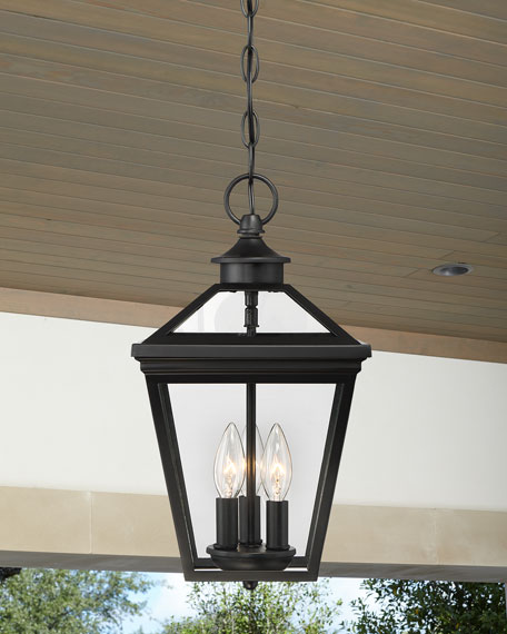 "Ellijay 9"" Steel Hanging Lantern"