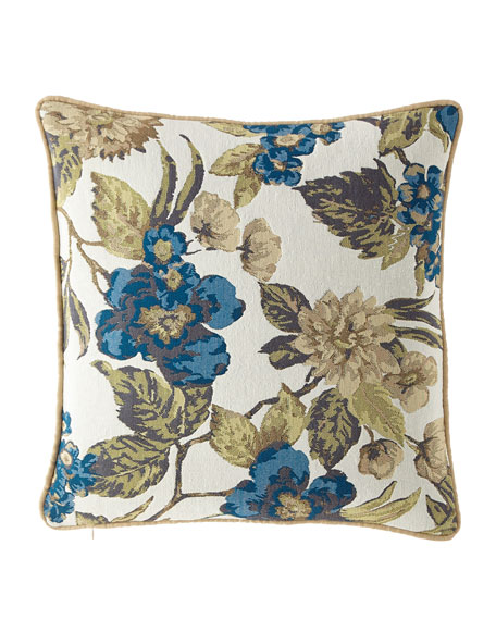 Austin Horn Collection Ariana Floral Pillow