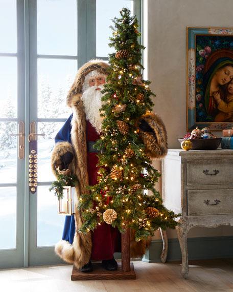 Ditz Designs By The Hen House Holy Spirit Santa