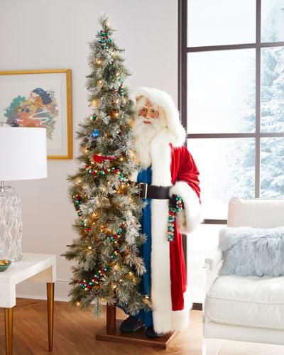 Merry and Bright Santa
