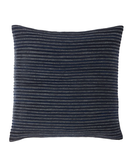 Callisto Home Twill & Linen Hide Stripe Decorative Pillow