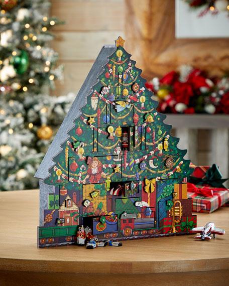 Byers' Choice Christmas Tree Advent Calendar