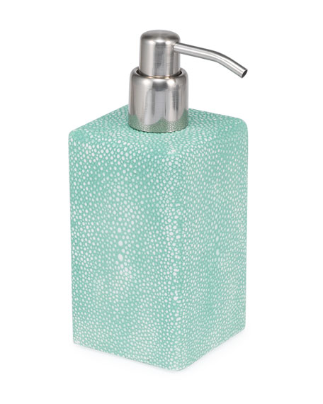SV Casa Shagreen Samurai Liquid Dispenser, Teal