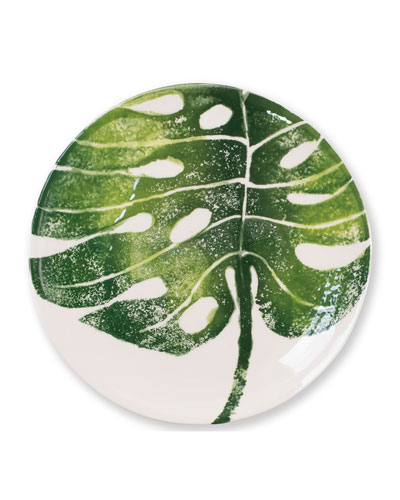 Into The Jungle Assorted Salad Plates  Set of 4