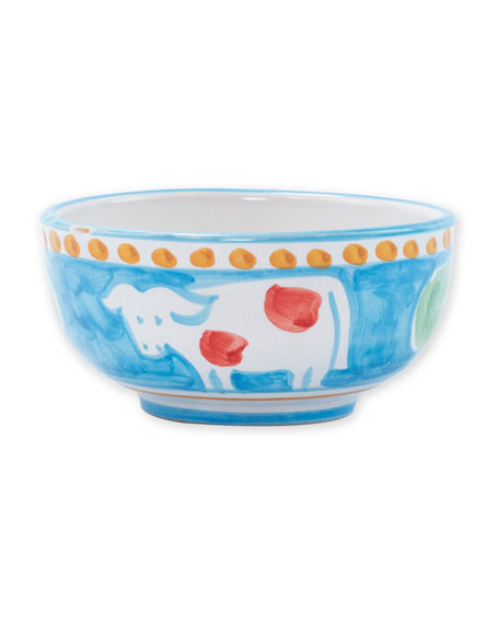 Vietri Mucca Cereal/Soup Bowl