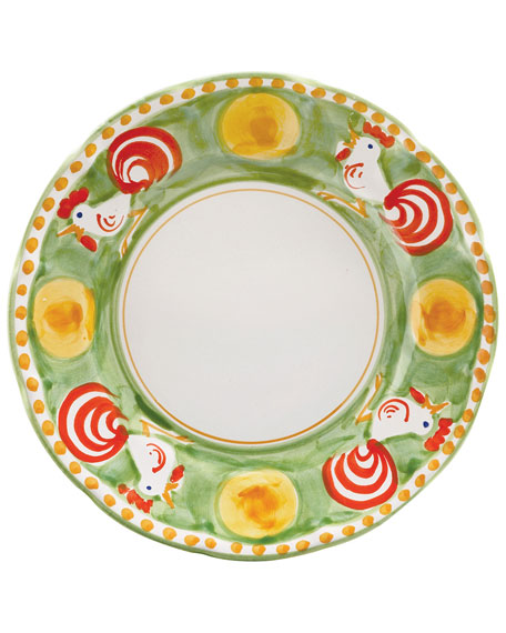 Vietri Gallina Dinner Plate