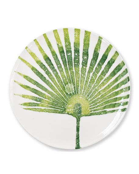 Vietri Into The Jungle Palm Leaf Dinner Plate