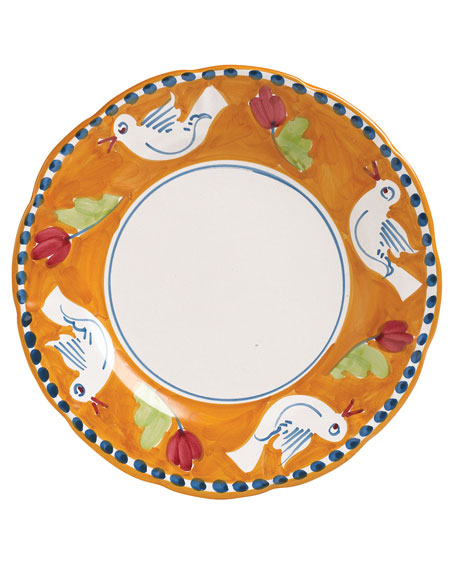 Vietri Uccello Service Plate/Charger