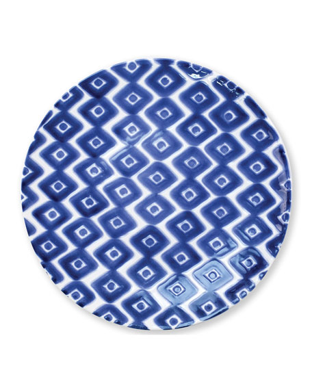 Vietri Santorini Assorted Dinner Plate, Set of 4