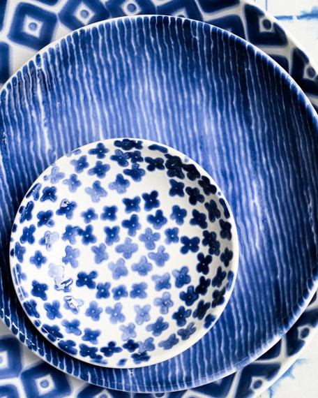 Vietri Santorini Assorted Condiment Bowls, Set of 4
