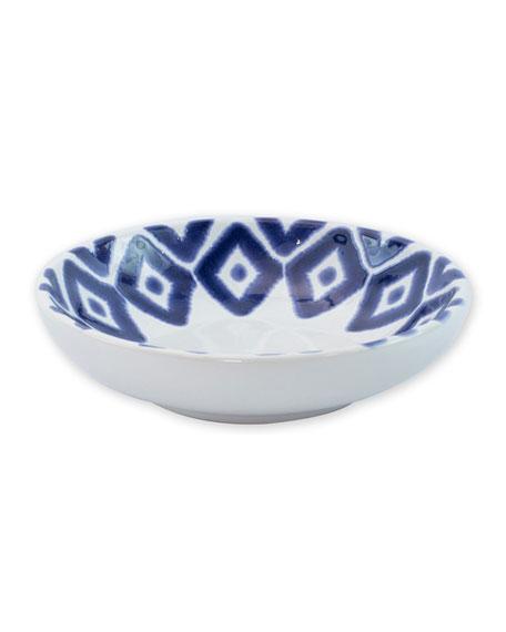 Vietri Santorini Diamond Condiment Bowl