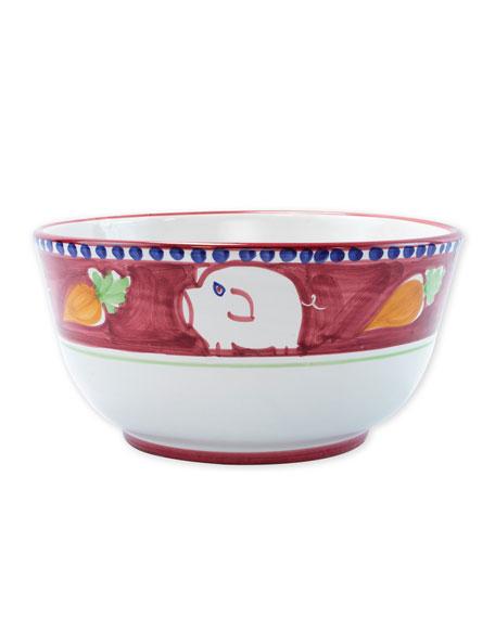 Vietri Porco Deep Serving Bowl