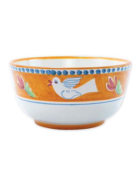 Vietri Uccello Deep Serving Bowl