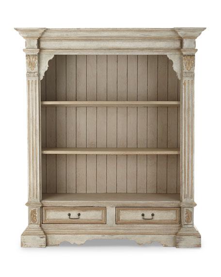 Vincente Carved Bookcase