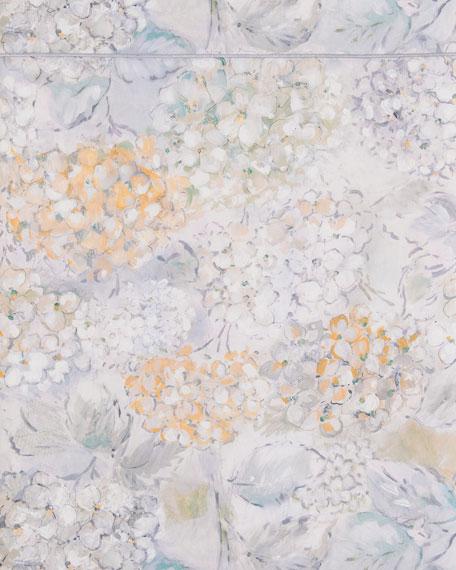 Anne de Solene Bouquet Full/Queen Flat Sheet
